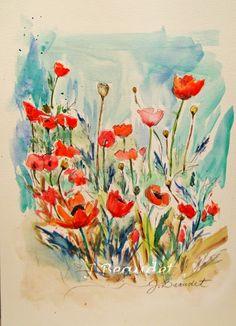 J Beaudet Studios : Day 14-17 Watercolor sketches