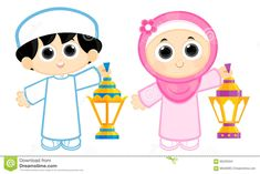 Illustration about Boy and Girl celebrating Ramadan and carrying Ramadan Lanterns, Ramadan is the ninth month of the Muslim calendar. Illustration of khaliji, arab, fanoos - 66220334 Kids Cartoon Characters, Cartoon Kids, Cartoon Images, Ramadan Activities, Preschool Activities, Emoji, Ramadan Cards, Happy New Year Wallpaper, Ramadan Lantern