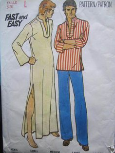 See Sally Sew-Patterns For Less - Caftan