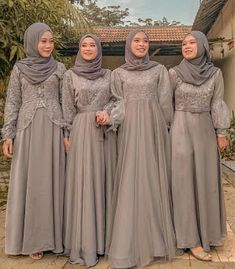 Hijab Prom Dress, Hijab Gown, Muslimah Wedding Dress, Hijab Style Dress, Hijab Wedding Dresses, Pakistani Bridal Dresses, Kebaya Modern Hijab, Kebaya Muslim, Bride Dress Simple