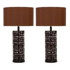 I pinned this Devon Table Lamp - Set of 2 from the Canyon Lake Ranch event at Joss and Main!