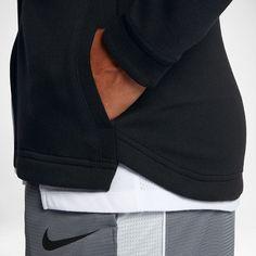 Nike Dri-FIT Showtime Damen-Basketball-Hoodie mit durchgehendem Reißverschluss