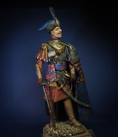 Polish Nobleman XVII c toy soldiers for collectors