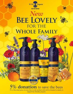 Try these gentle Bee Lovely products! 5% donation goes to save the bees.order online. Ships any where in the US. http://us.nyrorganic.com/shop/Alison_Richards
