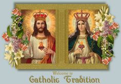 The Sacred Hearts of Jesus and Mary