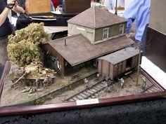 1/35 Train Diorama