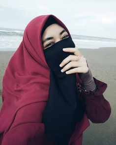 Hijab Niqab, Hijab Chic, Hijab Outfit, Muslim Girls, Muslim Women, Kaftan Pattern, Niqab Fashion, Fashion Outfits, Aunty In Saree