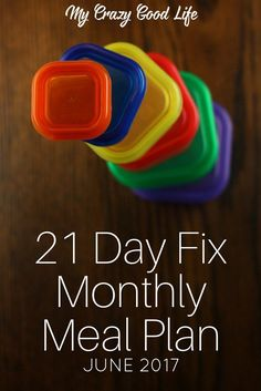 A 21 Day Fix monthly meal plan means you don't have to think about what to cook, prep, shop for, or create. All of your meals, figured out, it's amazing!  via @bludlum