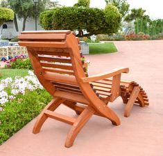 Quaint Redwood Adirondack Chair W/Footstool By AZCovenantCreations |  AZCovenantCreations | Pinterest | Stools And Decorating