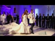 Monica and Shannon Brown Fascinating Wedding.......I am sitting here crying...