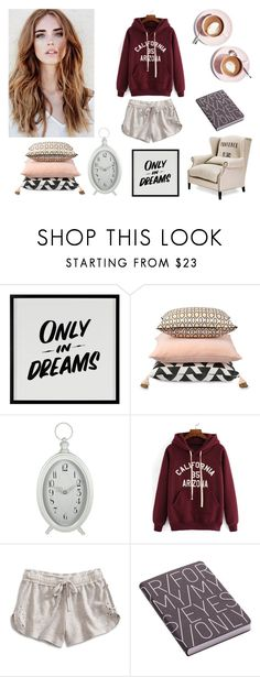 """lazy sunday"" by evelinqa on Polyvore featuring Martha Stewart, Baron Von Fancy, Lucky Brand i Nuuna"