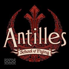 Antilles School Of Flying T Shirt Antilles School Of Flying T Shirt