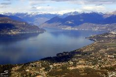 Looking in the direction of Switzerland at #Lago Maggiore. Explore more places worth visiting in #Italy with #sisterMAG n°7. Photo: Jillian Crocker-De Groeve