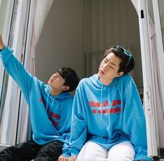 Ulzzang Couple, Ulzzang Boy, Theory Of Love, Aesthetic Boy, Thai Drama, Gay Couple, Taekook, Chanyeol, Real Couples