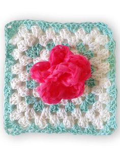 Scrubby Set Crochet Pattern - One of twelve scrubbies in the new, cute Scrubby Set Crochet Pattern! This set is a mix of scrubby patterns and scrubby dishcloth patterns that are all Easy Skill. You can you pretty much any cotton worsted weight yarn but we recommend using Premier Home Cotton! The netting used for the scrubbies can be purchased on our site too! - Available at www.MaggiesCrochet.com