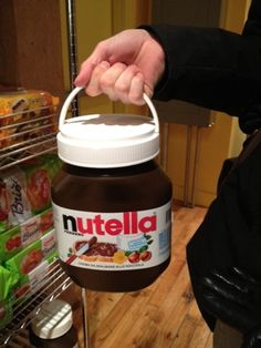 How I LOVE Nutella!!!