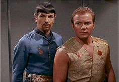 Mr. Spock and Captain Kirk