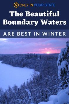 Minnesota's beautiful Boundary Waters is a popular place for camping, canoeing, and fishing throughout the warmer months. But don't overlook this wilderness when the weather turns cold. There is plenty to do in nature including cross-country skiing, winter hiking, and snowshoeing! Winter Hiking, Winter Fun, Winter Travel, Boundary Waters, Hidden Beach, Forest Service, Snow Scenes, Cross Country Skiing, Canoeing