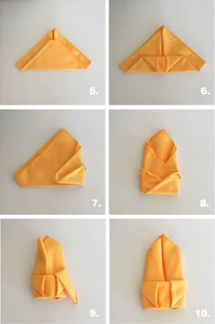 diy napkin folding For Thanksgivings, a well-dressed table setting is always important in order to satisfy your participants other than consider the delicious food and drinks. Thanksgiving Napkin Folds, Christmas Napkin Folding, Hosting Thanksgiving, Christmas Napkins, Thanksgiving Crafts, Linen Napkins, Paper Napkins, Napkin Folding Rose, Sofa Styling