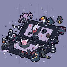 Oc Pokemon, Pokemon Funny, Pokemon Memes, Pokemon Fusion, Ghost Pokemon, Kawaii Drawings, Cute Drawings, Pokemon Photo, Phone Themes