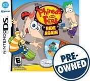 Disney Phineas and Ferb: Ride Again — PRE-Owned - Nintendo DS, 712725018771