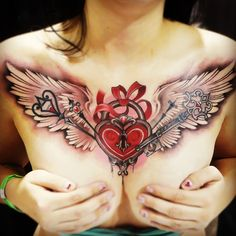 I thought this one was awesome because the shading looks awesome and looks almost 3D.  Jessica Wright, Capital Tattoo