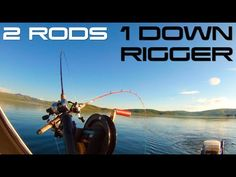 How to fish two rods on one downrigger, or stacking a downrigger. Downrigger Stacking or double stacking using a shuttlehawk. Learn how to double stack a dow. Salmon Fishing, Fishing Tips, Fresh Water, Outdoors, Hacks, Youtube, Outdoor Rooms, Off Grid, Outdoor