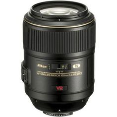 NEED THIS!!!  Nikon 105mm f/2.8G ED-IF AF-S VR Micro Nikkor Lens - Nikon U.S.A. Warranty: Picture 1 regular