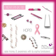 """Raise Money & Awareness with Lia Sophia fundraisers """"Breast Cancer Awareness"""" by amy-bortz on Polyvore"""