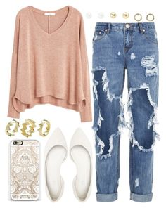 """988. Nirvana Ghost"" by adc421 ❤ liked on Polyvore featuring moda, Charlotte Russe, One Teaspoon, Casetify, MANGO y Pixie Grey"