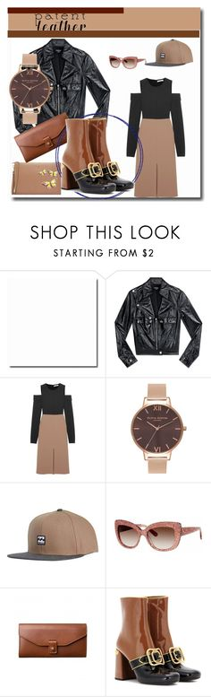 """""""City Slicker"""" by peeweevaaz ❤ liked on Polyvore featuring Bebe, TIBI, Olivia Burton, Billabong, Kate Spade, Prada, outfit, polyvoreeditorial, officeparty and polyvorefashion"""