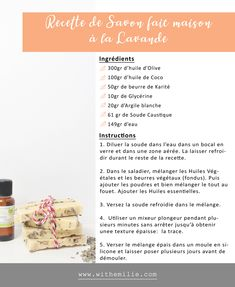 How do you make homemade soap? & My Tips and Recipe Idea & With Emilie & Lifestyle & Beauty Source by nadegerummel The post How do you make homemade soap? appeared first on Alba& Soap Works. Homemade Soap Bars, Easy Homemade Recipes, How To Make Homemade, Clean Beauty, Diy Beauty, Beauty Hacks, Diy Bathroom Cleaner, Solid Shampoo, Wie Macht Man