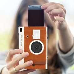 Polaroid   Lomography = Perfection: All of our photography dreams have come true with the Lomo'Instant Camera ($79).