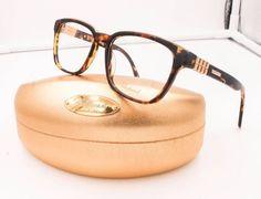 Chopard VCH 143 06ZE Spotted Havana Gold Plated RX Eyeglasses NWC 52mm VCH143 #Chopard