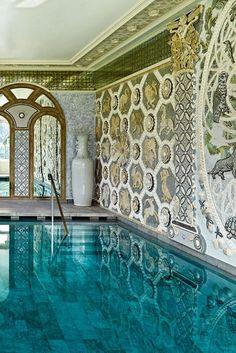 The pool of my ***dreams*** Ashford Castle (Cong, Ireland) - Jetsetter