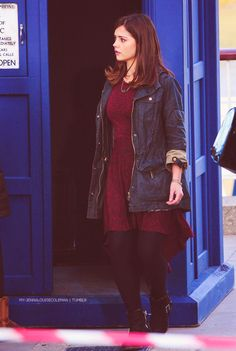 Jenna-Louise Coleman in The Bells of Saint John.