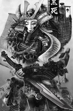 Samurai Girl, Peter Lucier on ArtStation at https://www.artstation.com/artwork/samurai-girl-4a6570c0-53f3-4039-8636-6b0d3c27b4f0