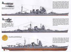 WWII Naval warfare - Japan's ships of WWII