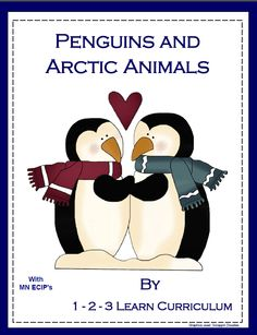 Penguins and Arctic Animals lesson plan with ECIP's (Early Childhood Indicators of Progress) and without added to 1 - 2 - 3 Learn Curriculum. Under the Penguins and Arctic Animals link. Jean 1 - 2 - 3 Learn Curriculum