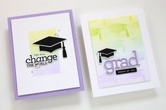 Handmade Birthday Cards, Handmade Cards, Graduation Cards, Graduation Ideas, Relationship Gifts, Fathers Day Cards, Heartfelt Creations, Card Making Inspiration, Simon Says Stamp