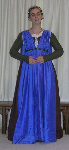 1486 Outfit Brown + Blue by Kathelyne