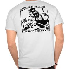 Lawyer Outside Biker Inside shirt back T Shirt, Hoodie Sweatshirt