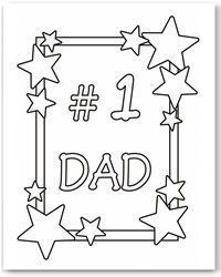 Father's Day coloring cards - kids Father's Day cards - free printable Father's Day cards - free coloring cards - homemade card ideas for Dad - coloring pages Kids Fathers Day Cards, Fathers Day Ideas For Husband, Fathers Day Poems, Easy Fathers Day Craft, Homemade Fathers Day Gifts, First Fathers Day Gifts, Diy Father's Day Gifts, Father's Day Diy, Dad Day