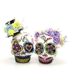 more sugar skull cupcakes