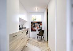 Малометражка с изюминкой: квартира-студио в Польше (30 кв. м)   Пуфик - блог о дизайне интерьера