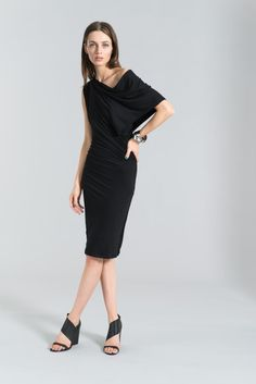 Elegant, unique, versatile, the off shoulder dress is made of two layers of silky soft material. So beautiful...chic and elegant, it can be worn at