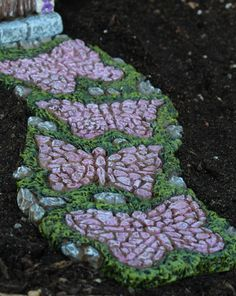 Butterfly Pathway: Fairy Garden Landscaping Miniature