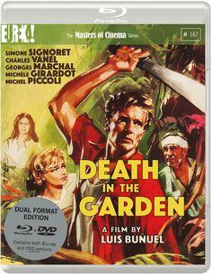 Artwork & Trailer For Eureka's Upcoming Blu-Ray Of Bunuel's DEATH IN THE GARDEN   http://www.themoviewaffler.com/2017/04/artwrk-trailer-for-eurekas-upcoming-blu.html