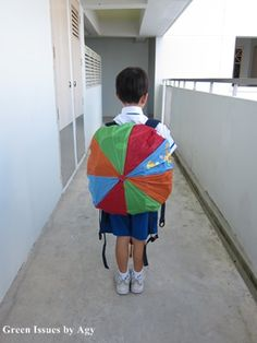 upcycled backpack - Google Search