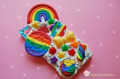 Hey, I found this really awesome Etsy listing at http://www.etsy.com/listing/156665270/rainbow-bright-whipped-cell-phone-case